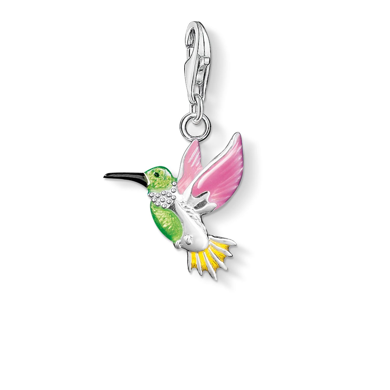 Pendentif Charm colibri multicolore, Thomas Sabo