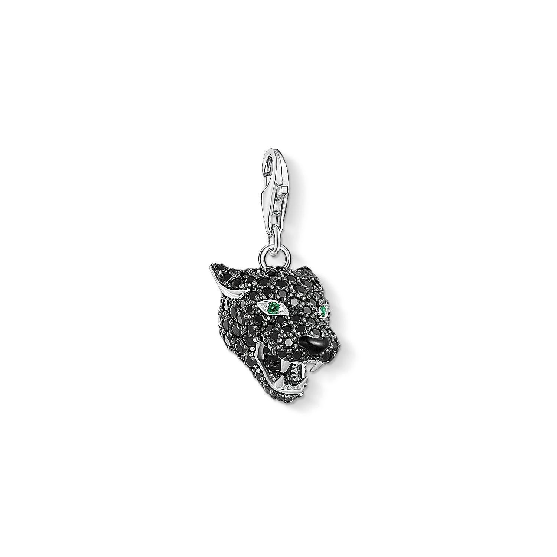 Pendentif Charm Black Cat, Thomas Sabo
