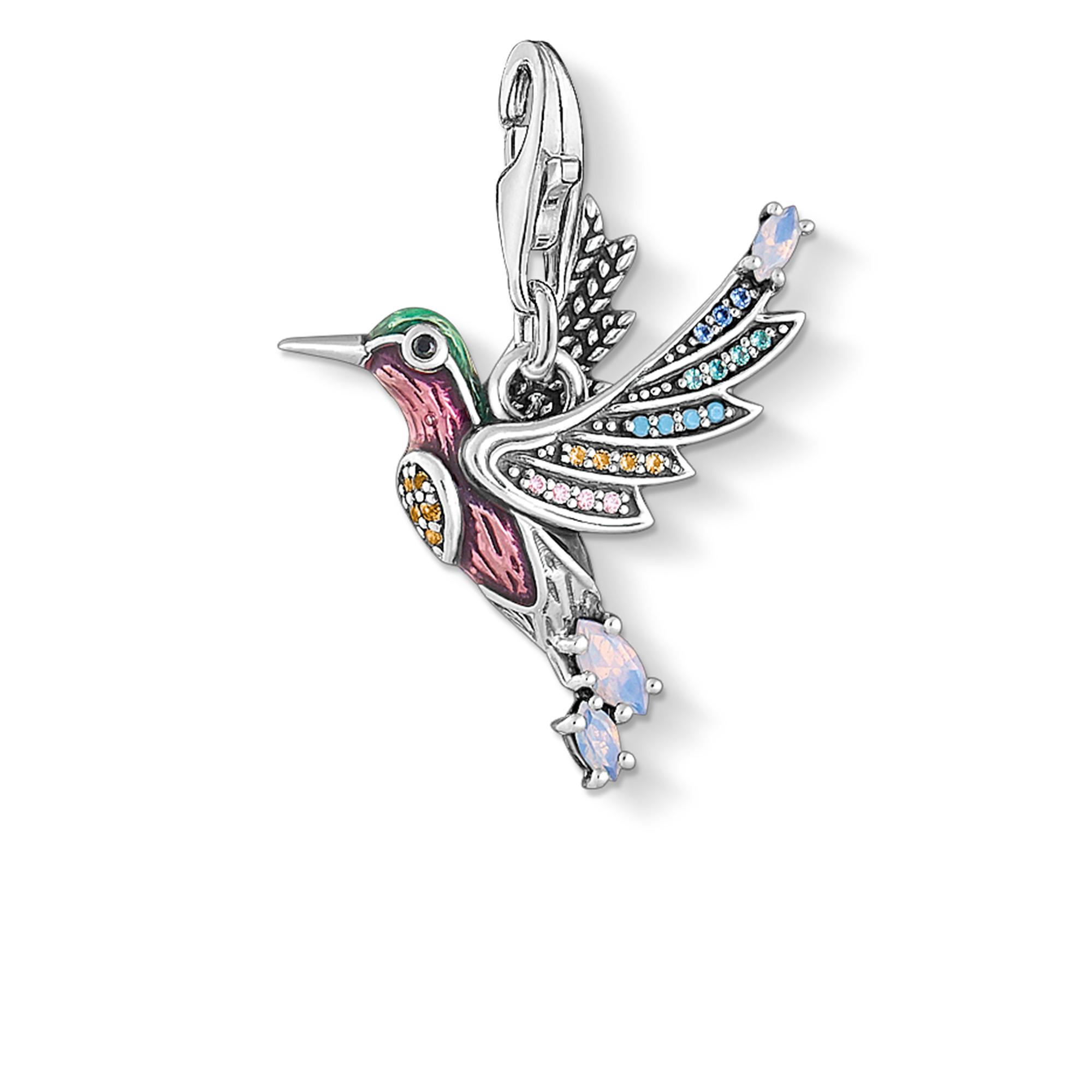 Pendentif Charm colibri argent, Thomas Sabo