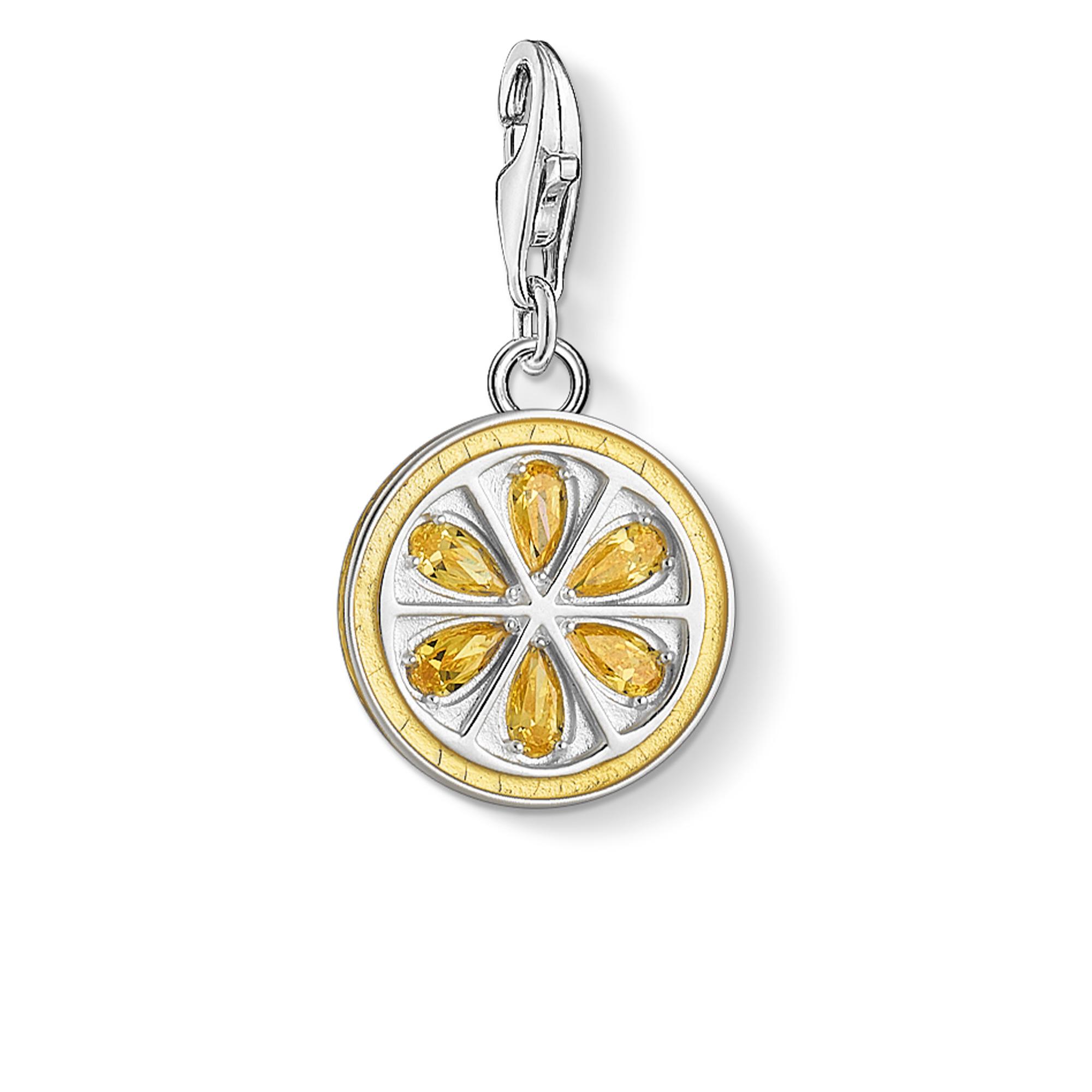 Pendentif Charm Citron, Thomas Sabo