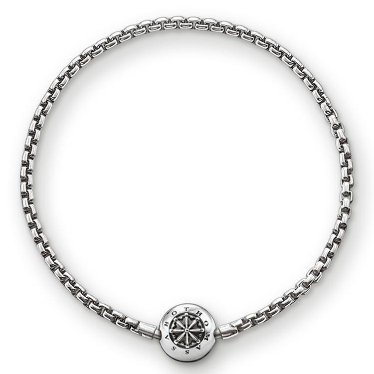 Bracelet pour Beads noirci, Thomas Sabo