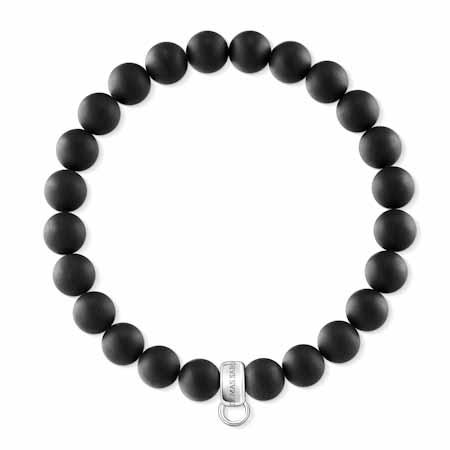 Bracelet Charm noir, Thomas Sabo