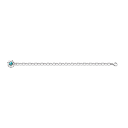 Bracelet Charm turquoise, Thomas Sabo