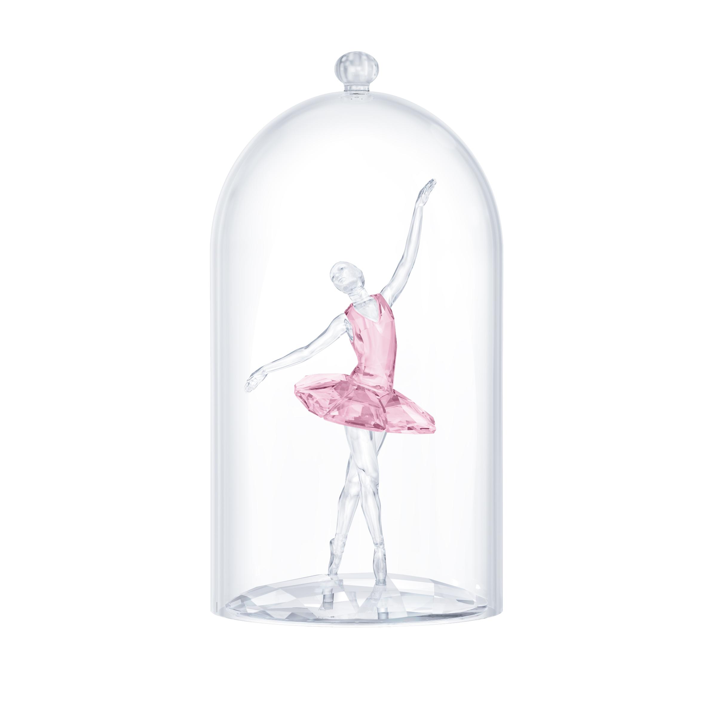 Ballerine sous cloche de verre Swarovski