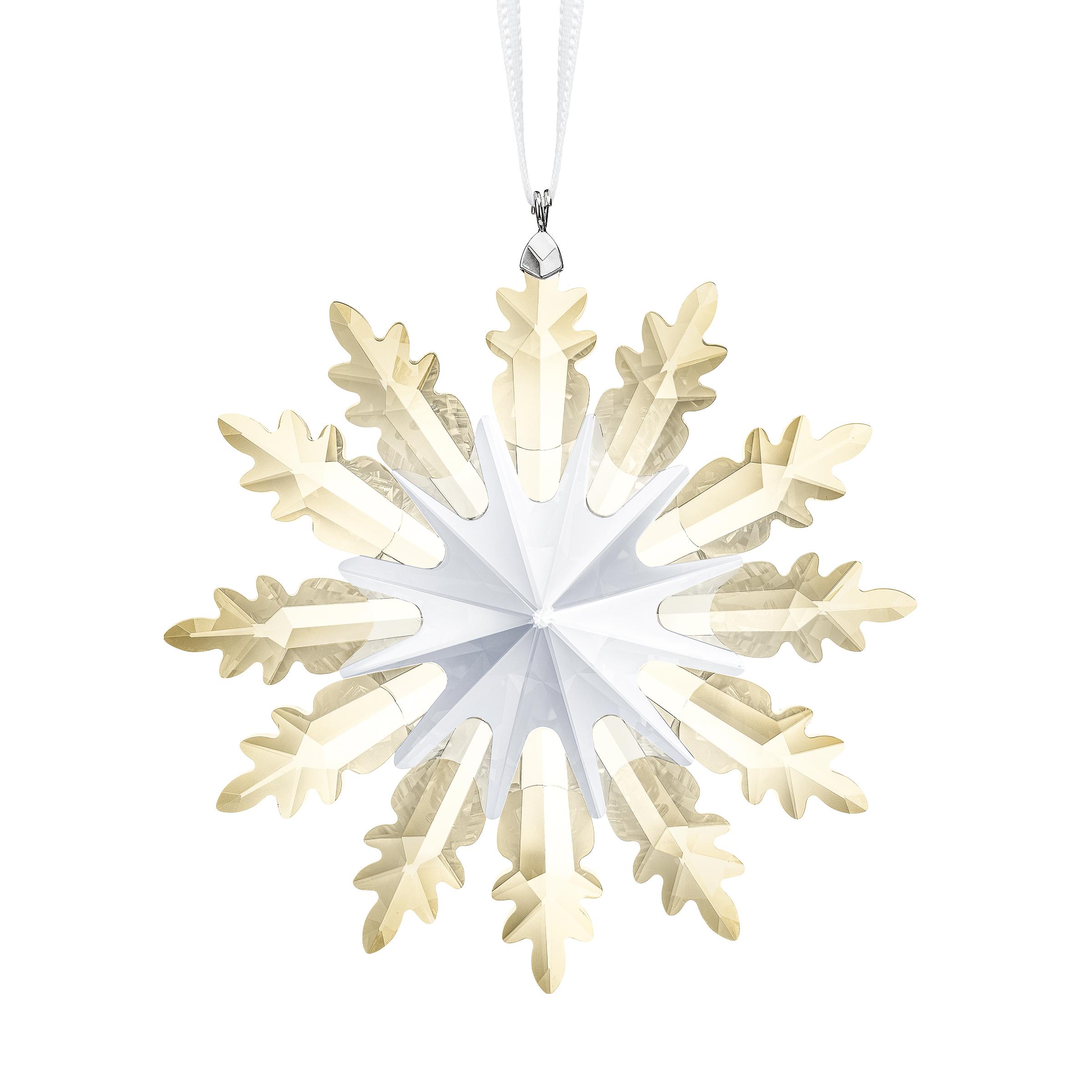 Décoration Étoile d'hiver Swarovski