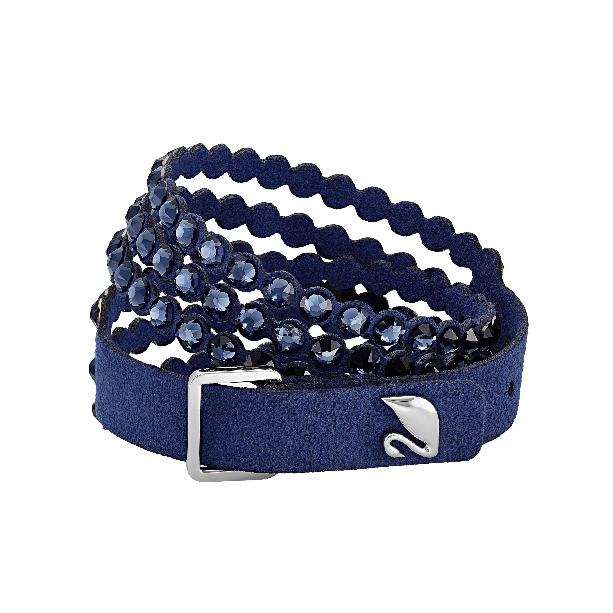 Bracelet Swarovski Power Collection, bleu, Swarovski