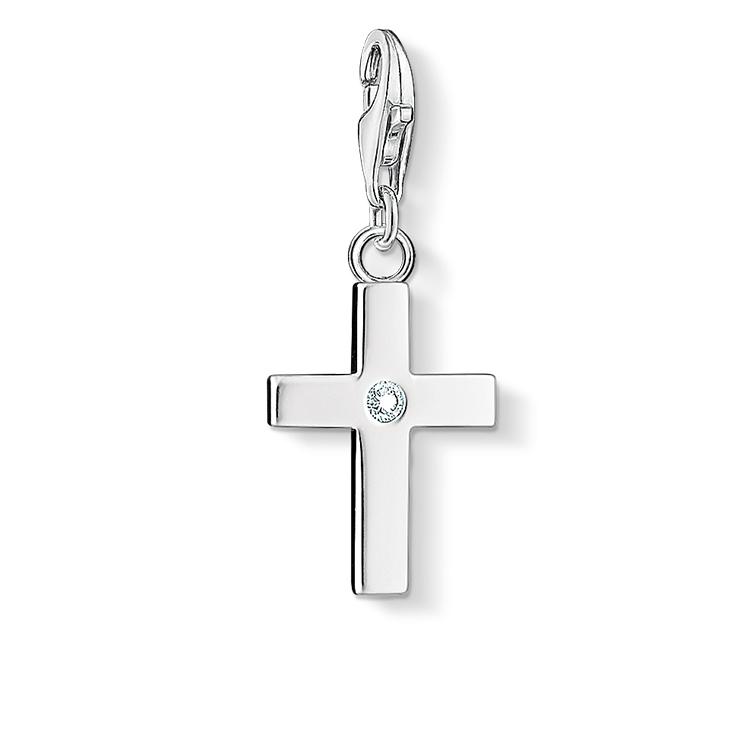 Pendentif Charm croix,Thomas Sabo