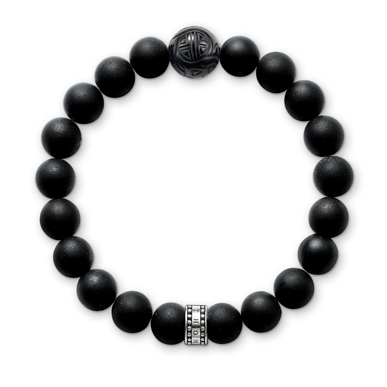 Bracelet Obsidienne, Thomas Sabo