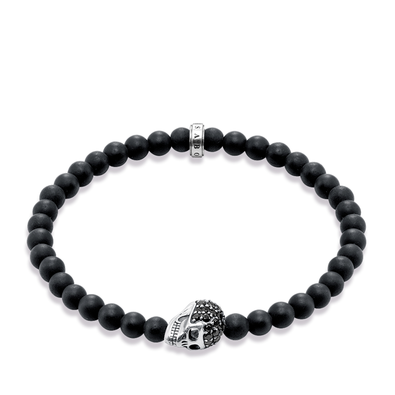Bracelet tête de mort, Thomas Sabo