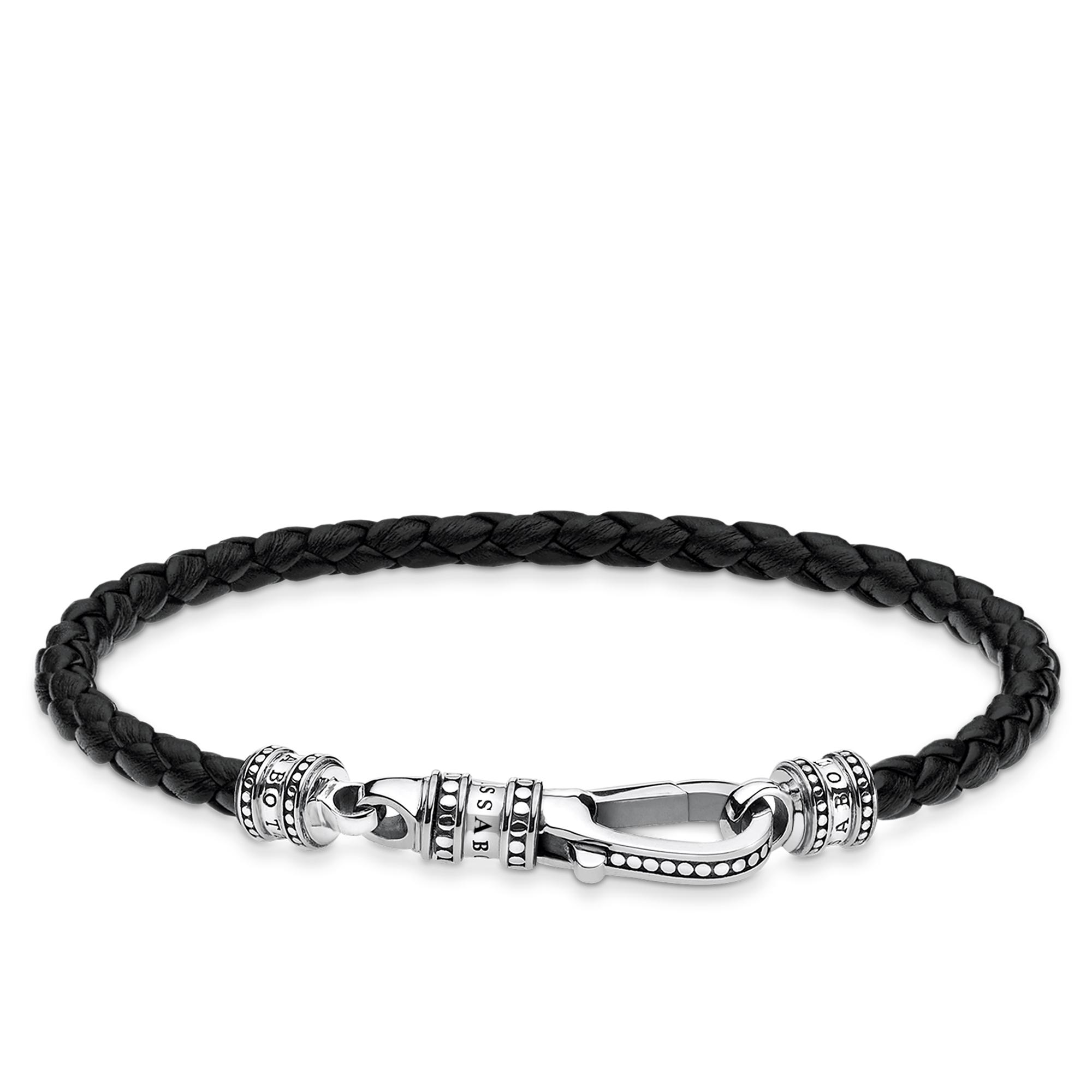 Bracelet cuir Mousqueton, Thomas Sabo