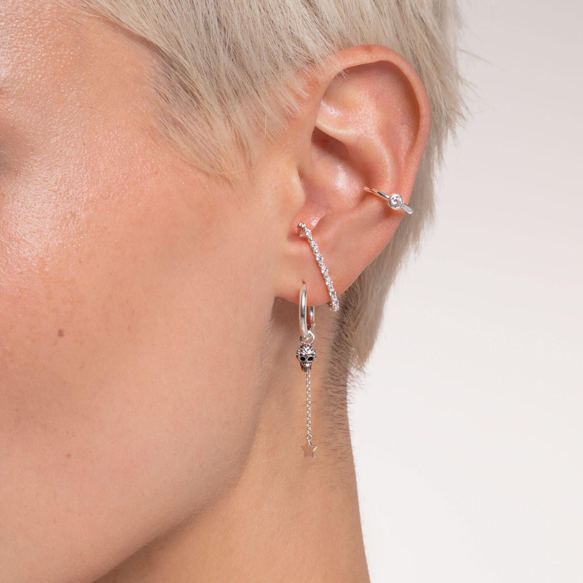 Pendentif pour boucle d'oreille unique étoile argent, Thomas Sabo