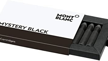 Cartouches d'encre, Mystery Black, Montblanc