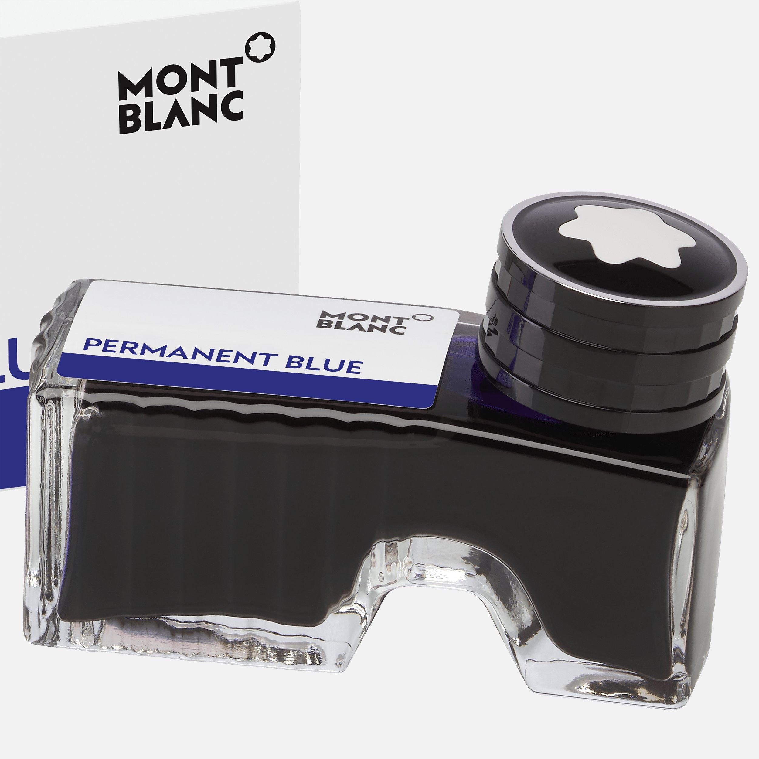 Flacon d'encre permanent bleu, 60 ml, Montblanc