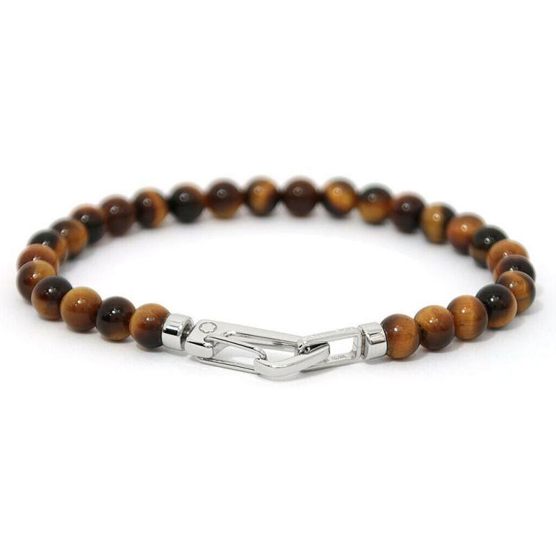 Bracelet Wrap Me, œil de tigre, Montblanc