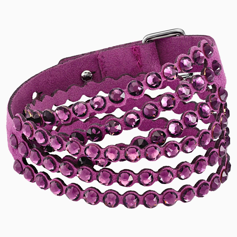 Bracelet Swarovski Power Collection, violet, Swarovski