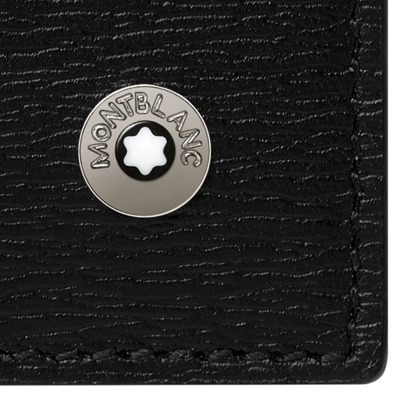 Porte-feuilles 6cc en cuir noir, 4810 Westside, Montblanc