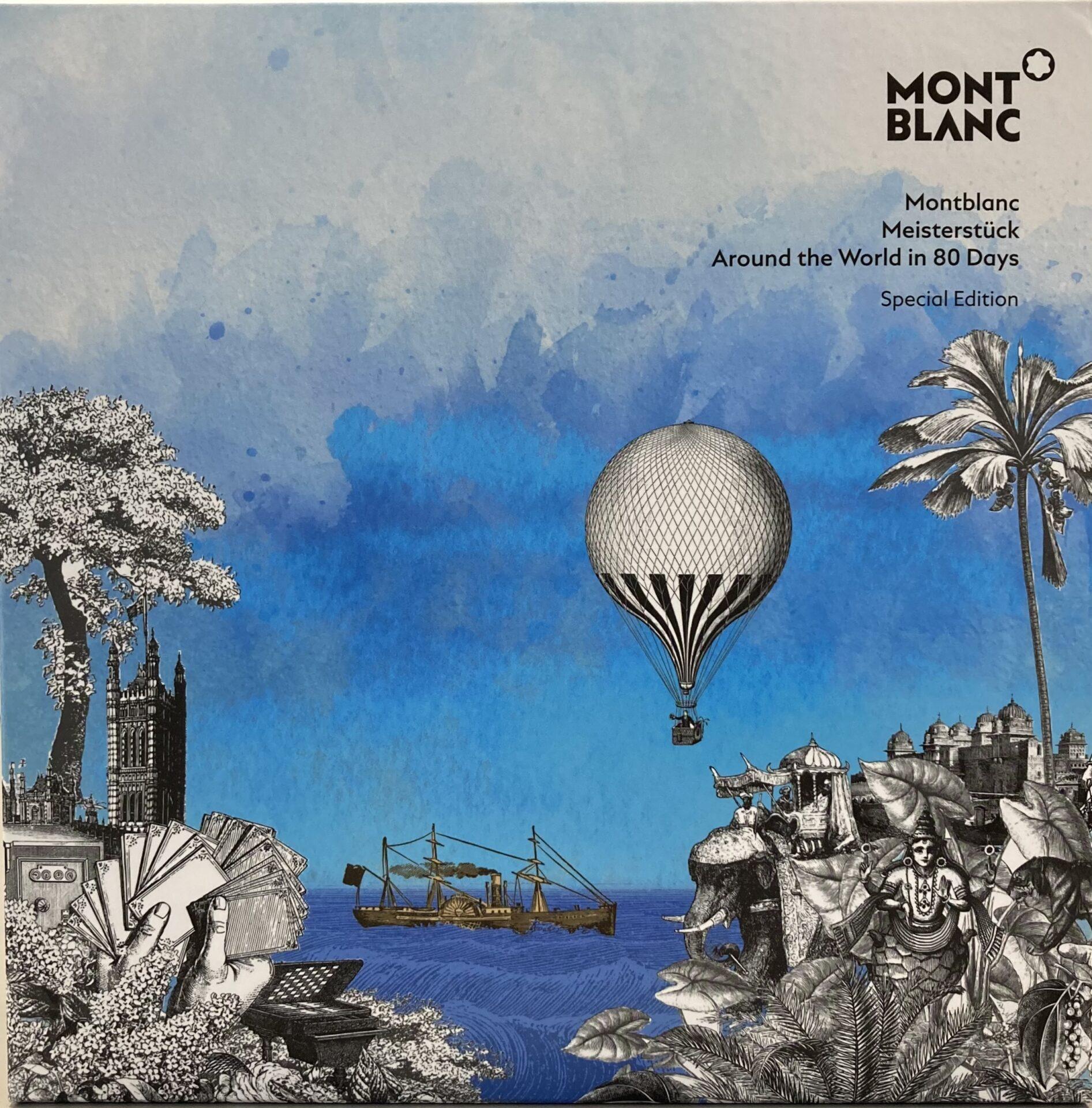 Stylo bille midsize, Meisterstück Le tour du monde en 80 jours, Montblanc