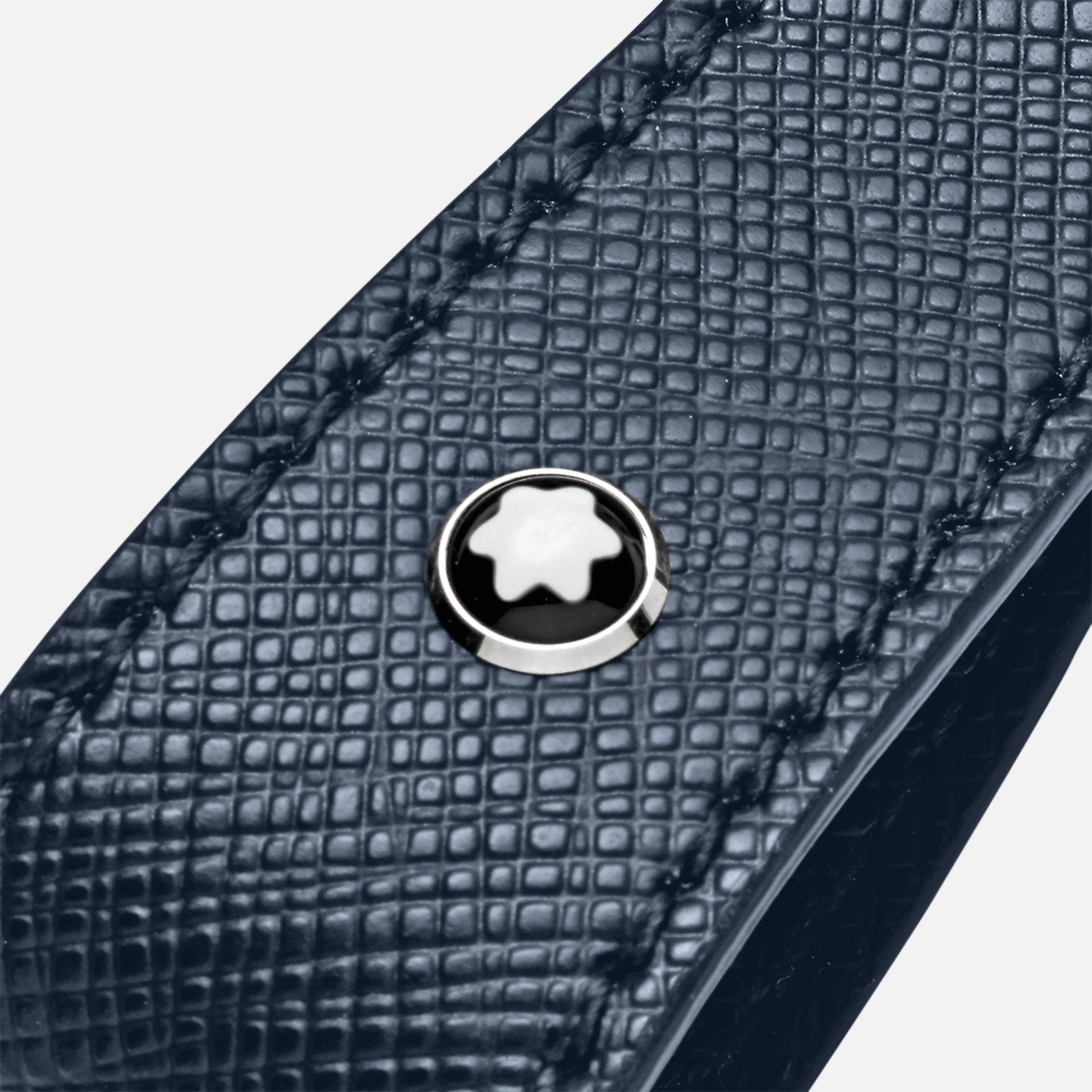 Porte-clés boucle, Sartorial bleu, Montblanc
