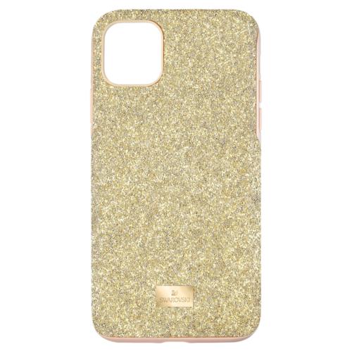 Étui pour smartphone High iPhone® 11 Pro Max, Ton doré, Swarovski