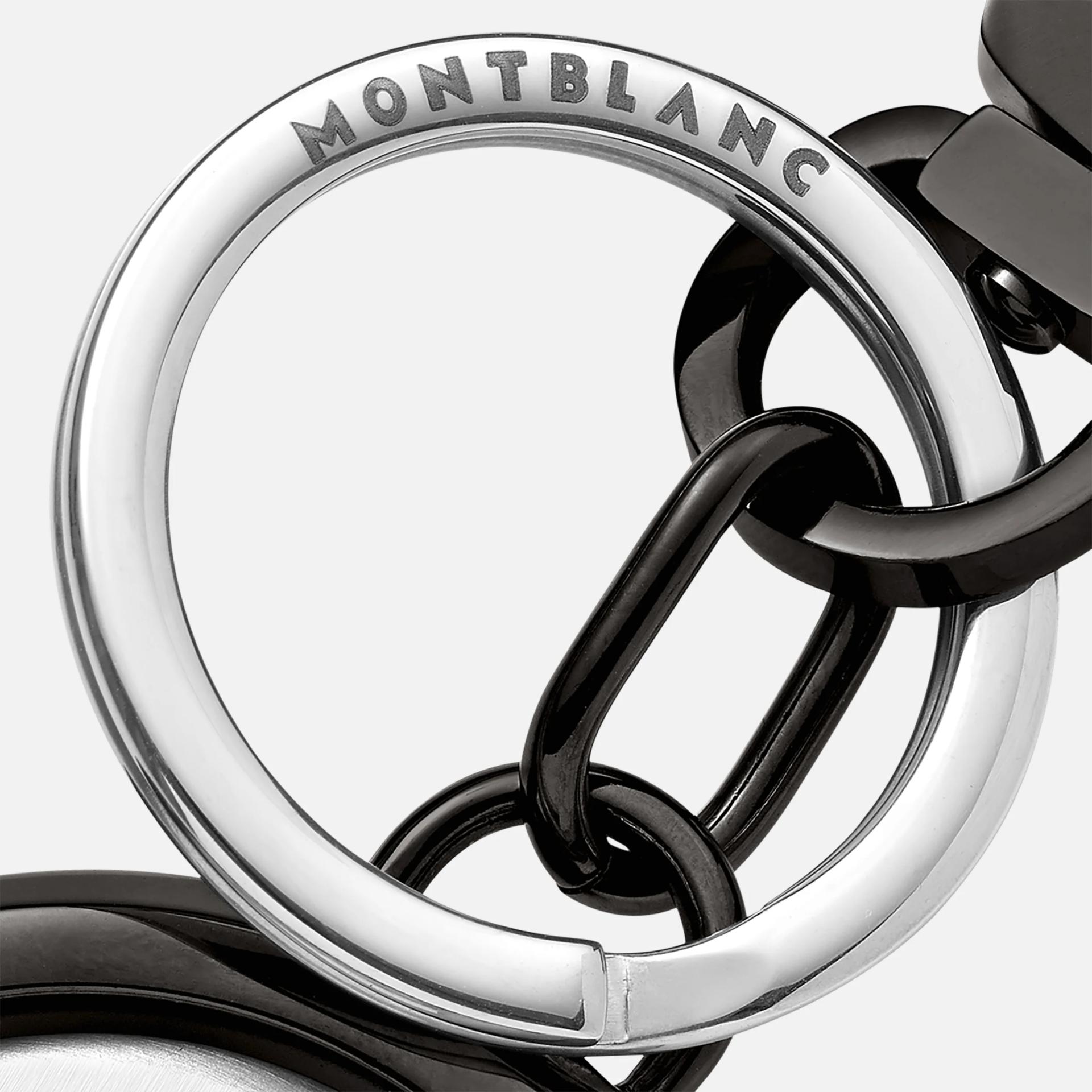 Porte-clés Meisterstück Spinning Emblem noir, Montblanc