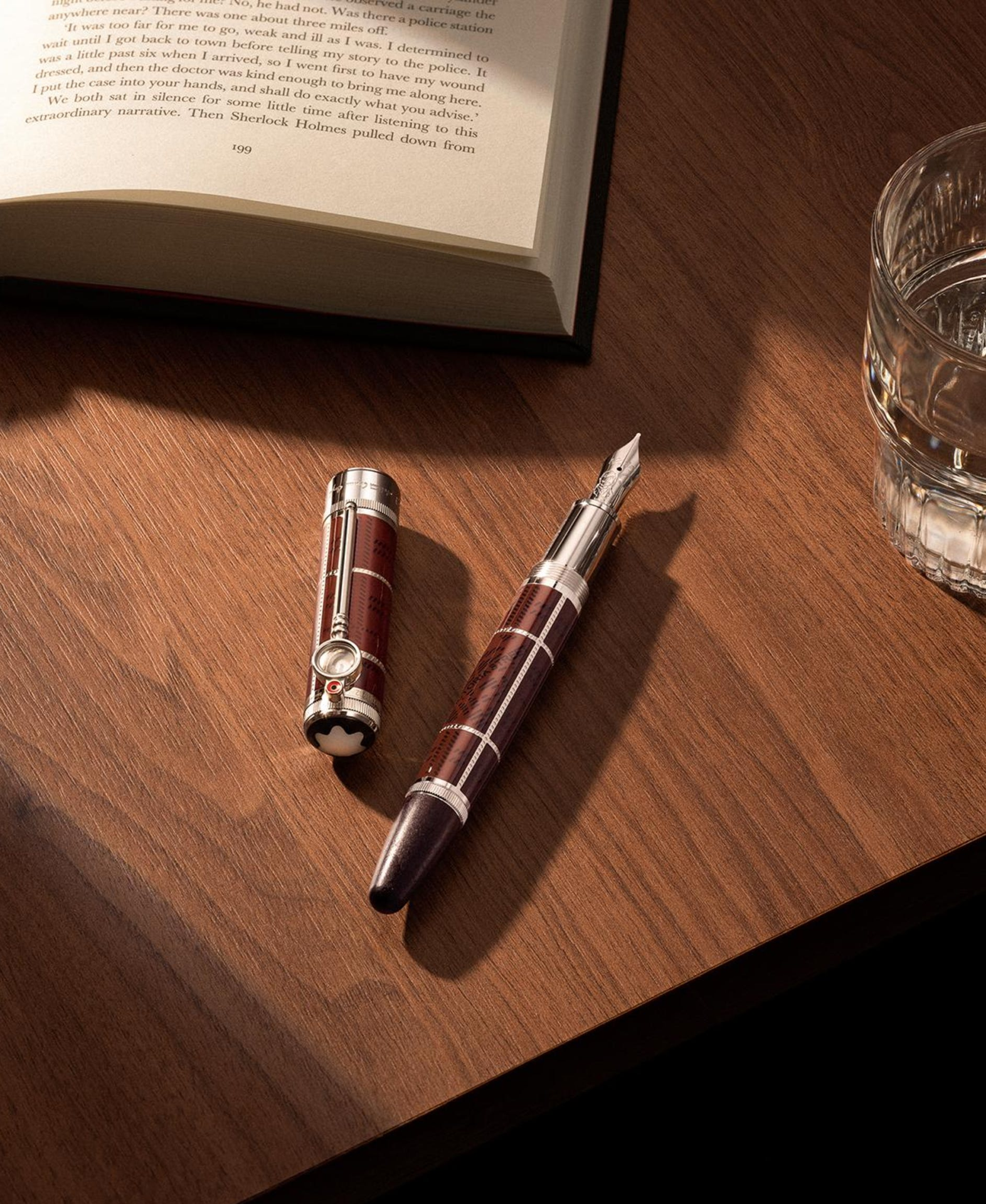 Stylo plume Writers Edition hommage à Arthur Conan Doyle, Limited Edition 1902, Montblanc