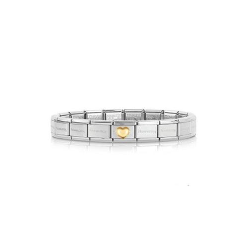 Bracelet Composable Classic, Cœur, Nomination
