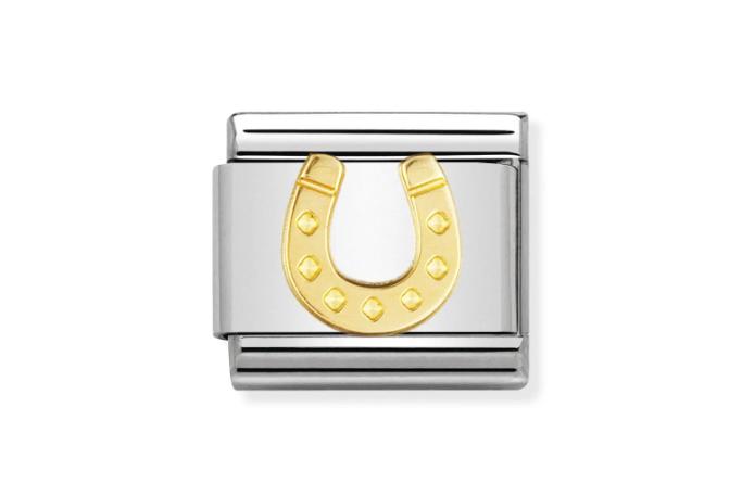 Bracelet Composable Classic, Fer à cheval, Nomination