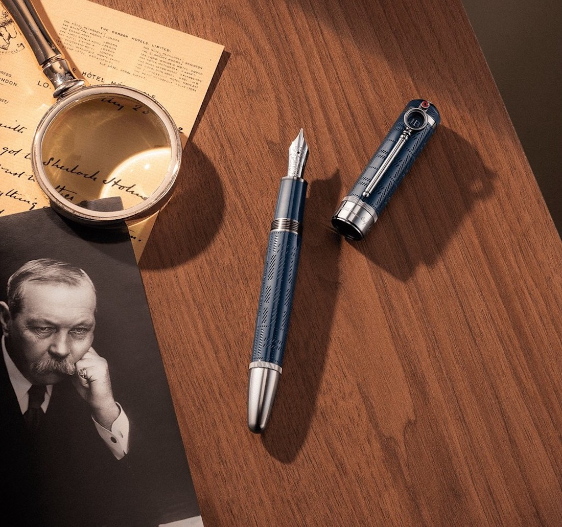 Stylo plume Writers Edition hommage à Arthur Conan Doyle, Montblanc
